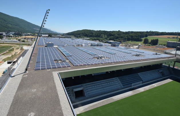 ABB, solar world record on the Tissot Arena in Biel