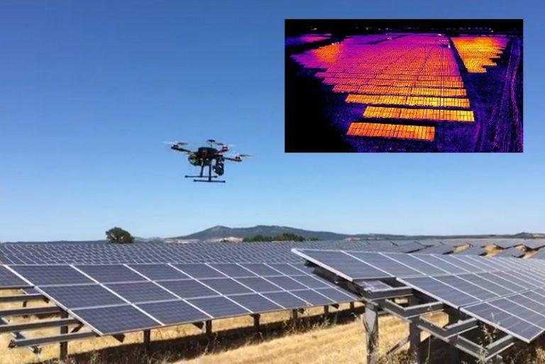 Fotovoltaico e analisi termografica con drone, la tecnica di Enerray