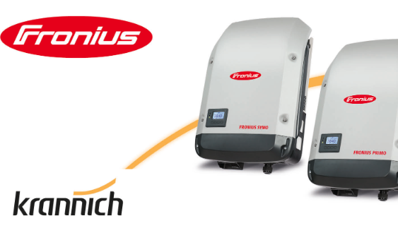 Krannich Solar distribuisce sul mercato italiano gli inverter fotovoltaici Fronius