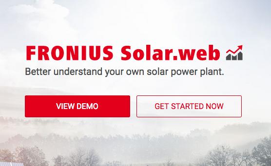 Monitoraggio FV: arriva Solarweb Premium, un'iniziativa di Fronius Italia