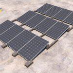 Sunballast presenta la zavorra 10° per la posa verticale dei moduli fotovoltaici
