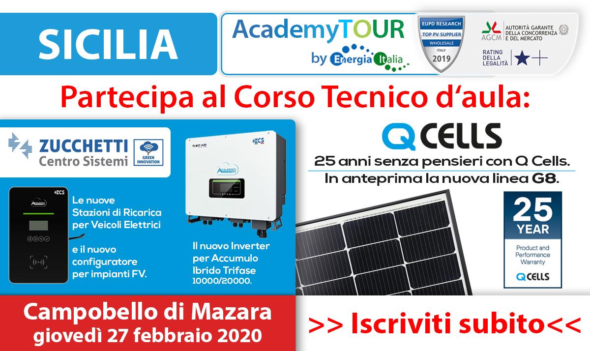 Energia Solare In Sicilia energia italia: in sicilia il primo dei 20 corsi tecnici