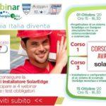 """Energia Italia: """"Corso avanzato per installatore certificato Solaredge"""""""